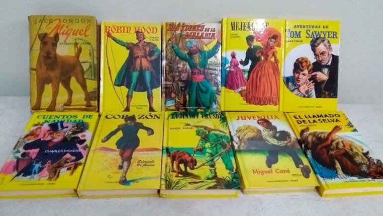 Los neuquinos recuerdan los libros de la colección Robin Hood