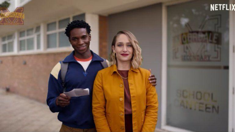 Netflix lanzó el primer tráiler de Sex education 3