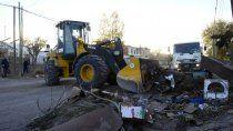 operativo puerta a puerta: en un dia levantaron 141 mil kilos de residuos