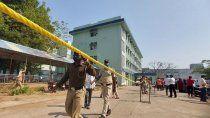 tragedia: murieron 10 bebes al incendiarse una maternidad