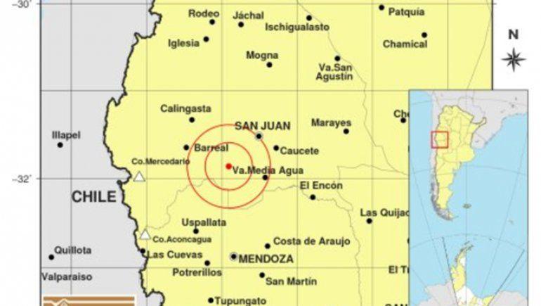 Un sismo sacudió San Juan y se sintió en todo el centro del país