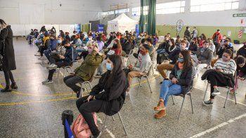 Este jueves, continúa la vacunación sin turno para jóvenes en Don Bosco y Ruca Che.