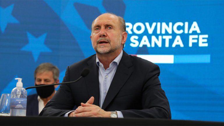 El gobernador de Santa Fe anunció que tiene coronavirus