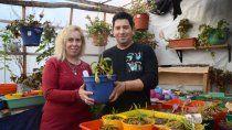 los neuquinos que crearon un vivero de plantas carnivoras