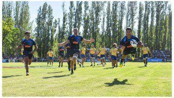Una escena del triunfo de Argentina XV ante Brasil.