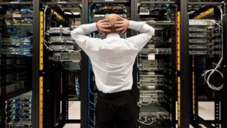 Los principales sitios web quedaron afectados por una interrupción mundial
