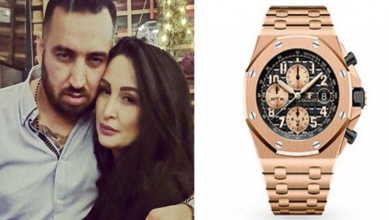 Una pareja utilizó a su hijo para robar un reloj de u$s 100.000