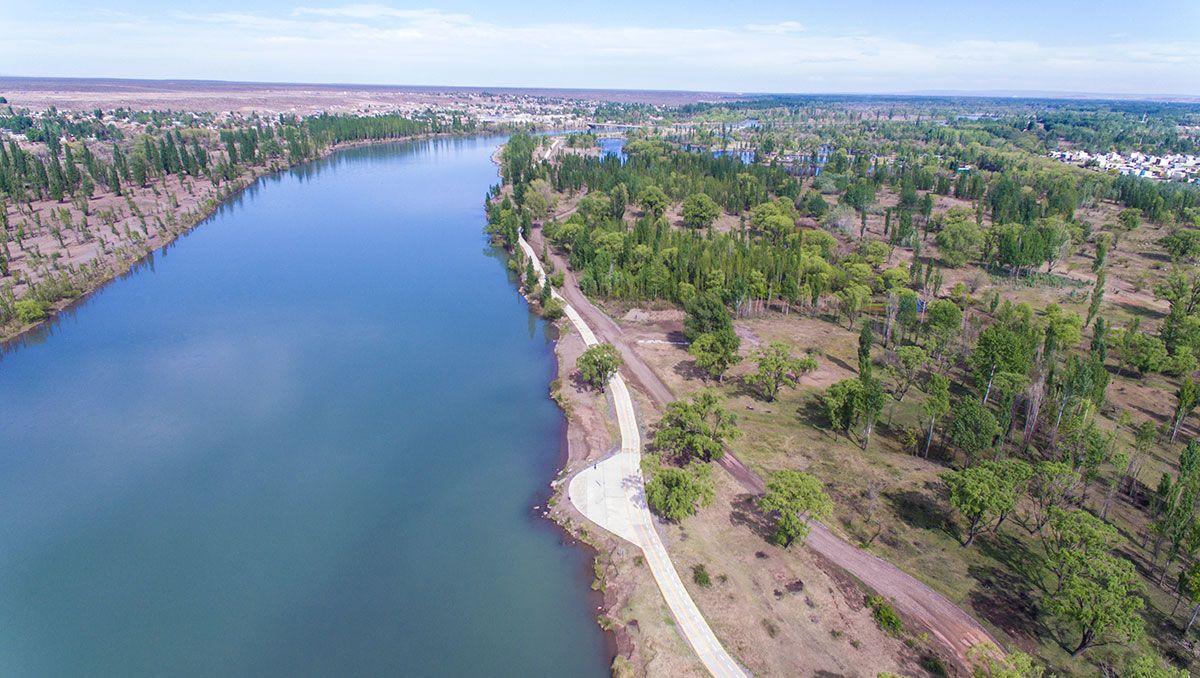 desde el drone: asi es el nuevo paseo costero del oeste