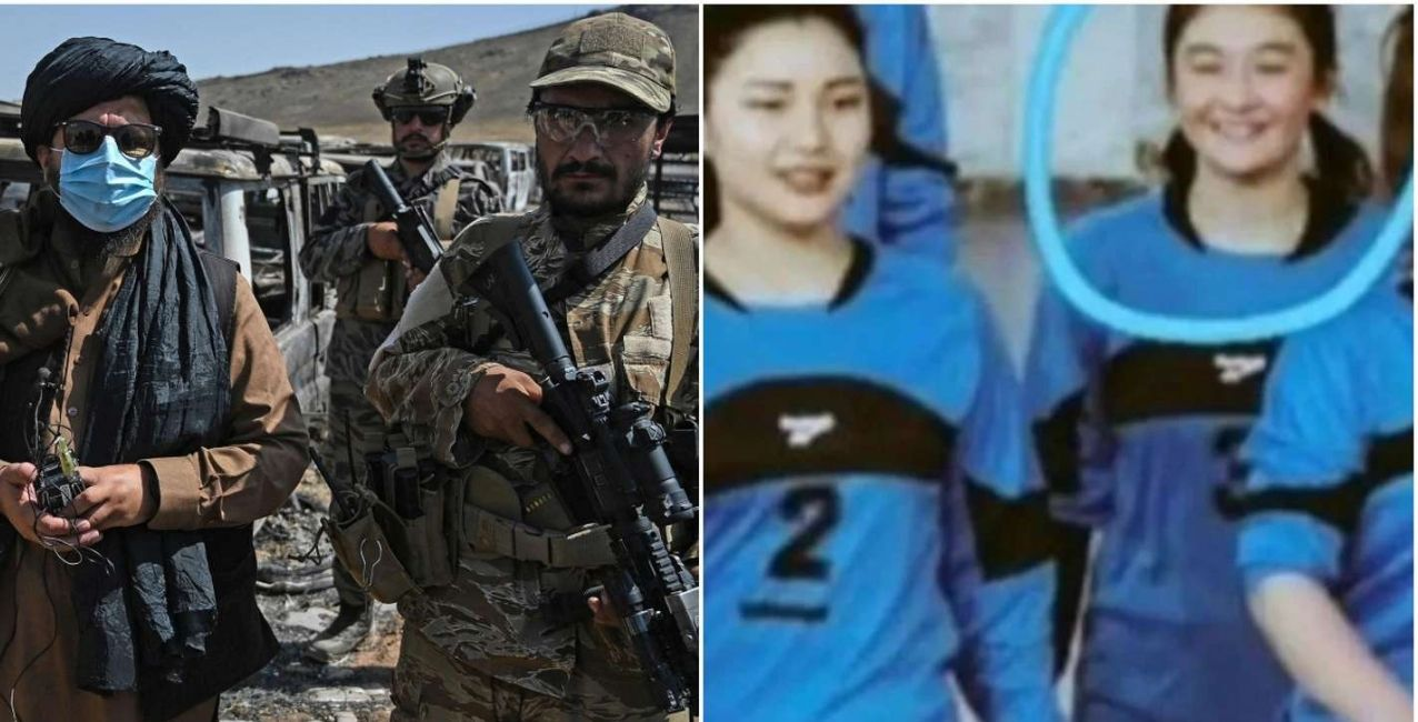 horror: jugadora de voley decapitada por los talibanes