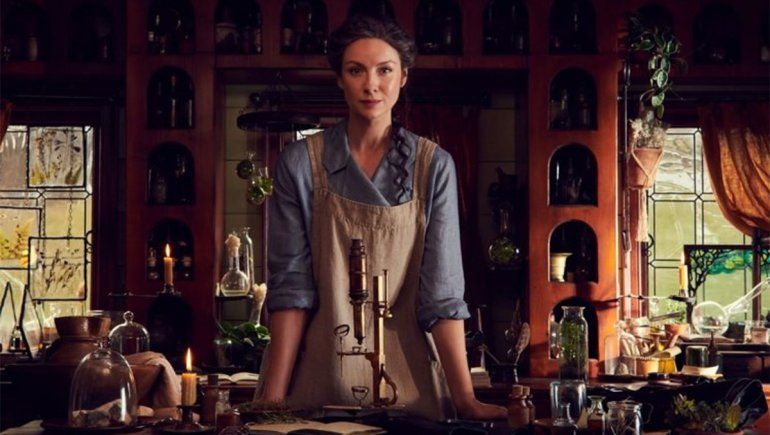 Claire es el personaje protagónico de Outlander junto a Jamie | Foto: @outlander_starz (Vía Instagram)