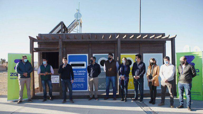 La Legislatura y PAE, inauguraron un nuevo Ecopunto en Zapala