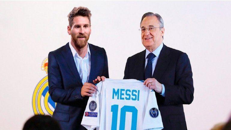 ¿Sabías que Messi pudo ser jugador del Real Madrid?
