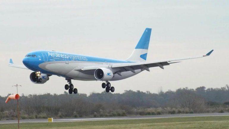 Aerolíneas Argentinas retoma en octubre los vuelos internacionales