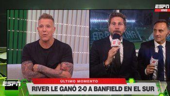 La transmisión en la que Fantino se la jugó y Latorre lo dejó en off side.