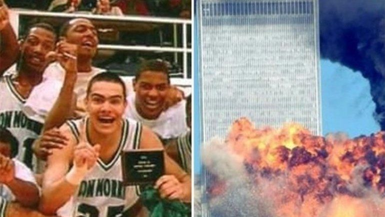 Es basquetbolista, hermano de Chiquito Romero y vivió la pesadilla del 11S