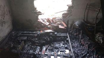 Interna entre vecinos terminó en incendio y tres gatos muertos