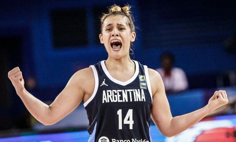 Flor Chagas: Creo que me voy a desmayar cuando entre a un estadio de WNBA
