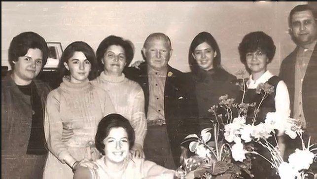 Uno de los tantos encuentros familiares que disfrutaban Beatriz y Samuel.