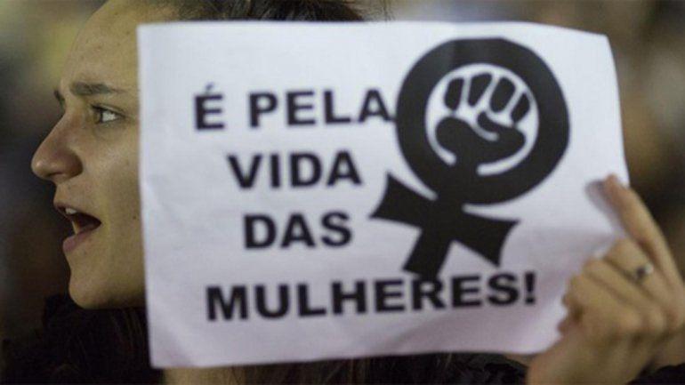En Brasil hubo 12 femicidios por día en el 2017