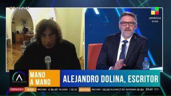 alejandro dolina es tendencia por su critica a los anticuarentena