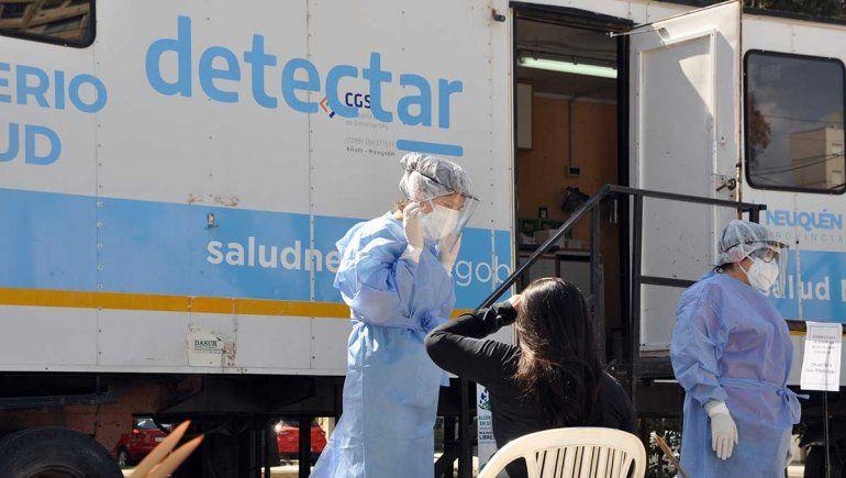 Neuquén registró 156 nuevos contagios de coronavirus