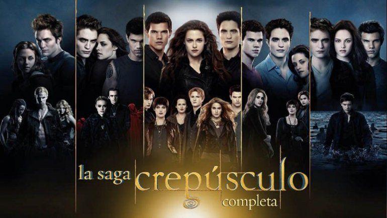 Saga Crepúsculo llegó a Netflix y causa furor