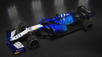 Williams develó el auto con el afrontará el 2021 de la Fórmula 1.