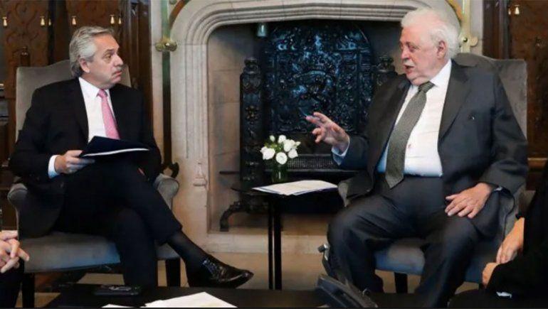 El presidente Alberto Fernández admitió que le dolió separar del cargo al ex ministro Ginés González García.
