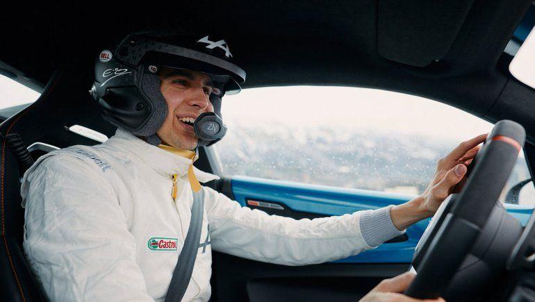 Esteban Ocon participó de una iniciativa de Alpine y elogió a los pilotos de rally