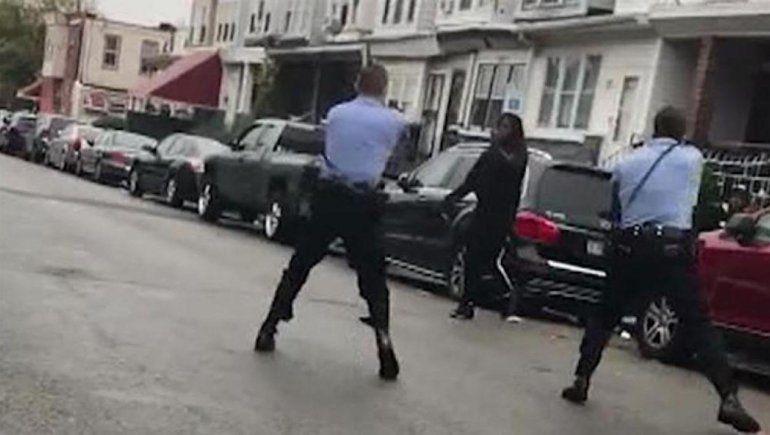 Video: la Policía mató a otro afroamericano en la calle
