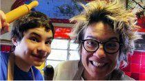 madre e hijo dan clases de cocina para ninos y adolescentes