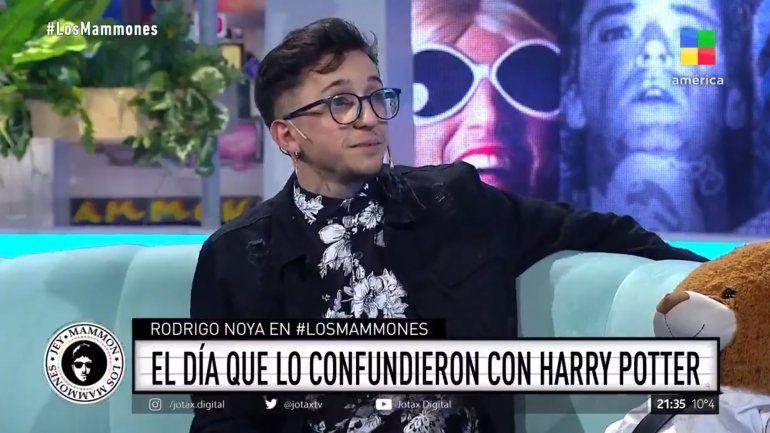 El día que confundieron a Rodrigo Noya con Harry Potter