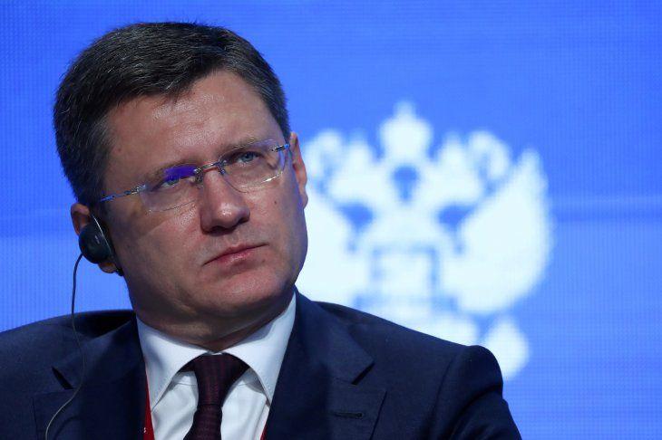 Imagen de archivo del ministro de Energía de Rusia