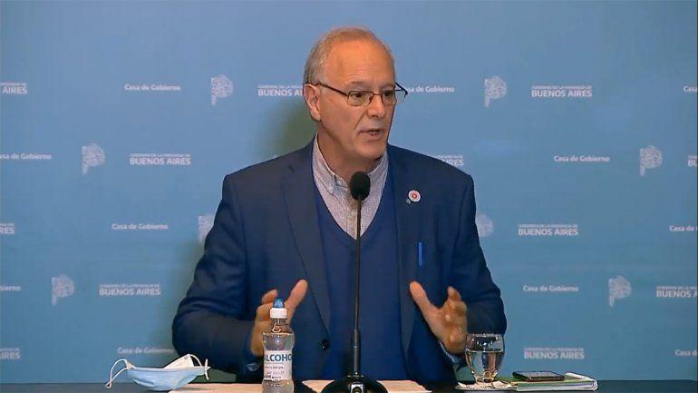 El ministro de Salud bonaerense, Daniel Gollan, acusó a Carrió de hacer campaña.