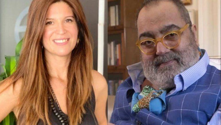 Apareció la primera foto de Jorge Lanata con su novia