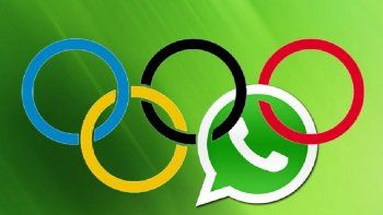 Conocé todo sobre los Juegos Olímpicos gracias a WhatsApp
