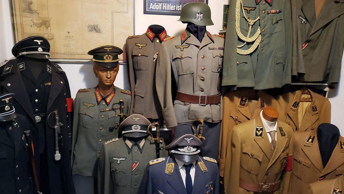 lo detuvieron por pederasta y le encontraron un museo nazi