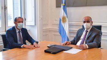 Gutiérrez con Manzur: salud, sequía y Vaca Muerta en la agenda