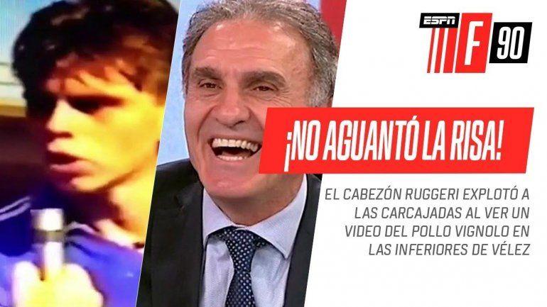 El video por el que Ruggeri se le rió a Vignolo en la cara: eras un pelotudito