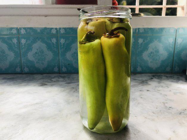 Ajíes en vinagre: receta fácil