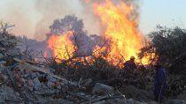 centenario: se triplicaron los incendios y hay preocupacion