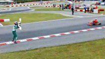 El piloto de karting Luca Corberi recibió una sanción de 15 años de suspensión.