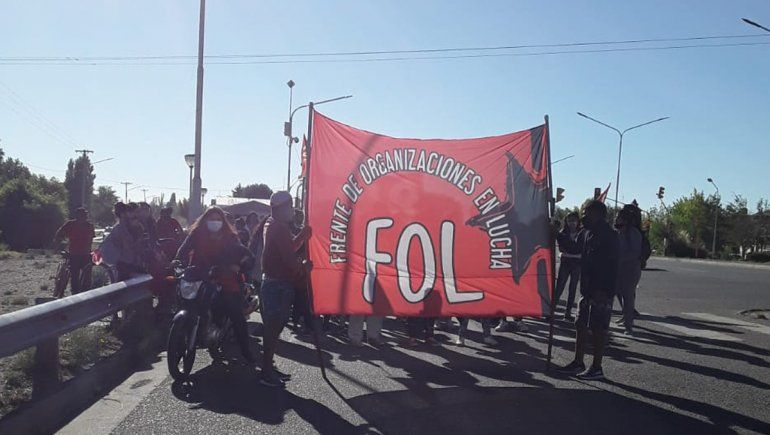 Organizaciones reclamaron con cortes de ruta en Senillosa, Plottier y Neuquén