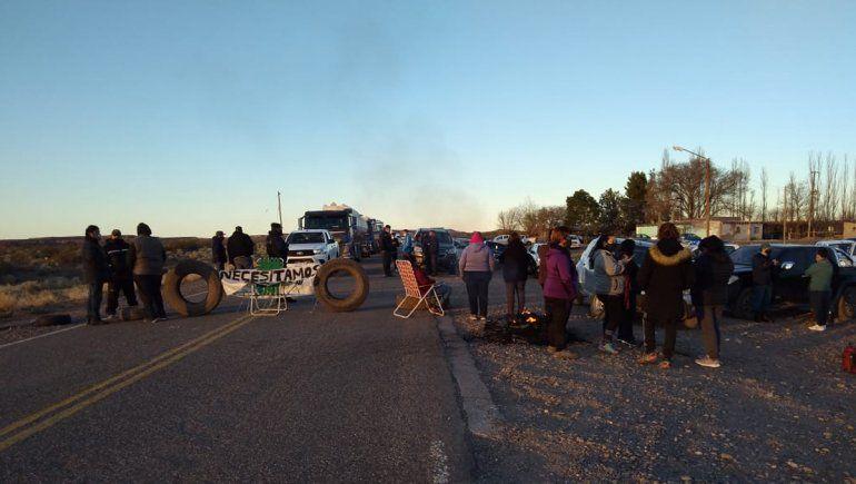 Vecinos de Sauzal Bonito levantaron el corte sobre la Ruta 17