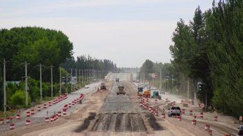 Habilitarán otros 5 kilómetros de la nueva Ruta 22