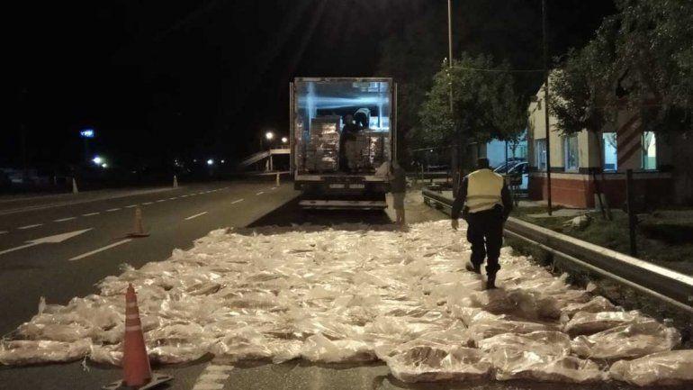 Secuestraron más de 150 costillares que venían a Neuquén