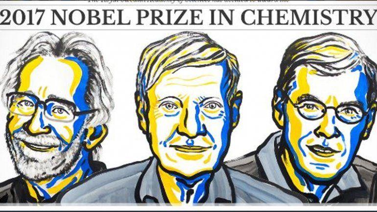 Los creadores de microscopio crioelectrónico ganaron el Nobel