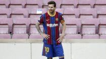 ¡bomba! poderoso club europeo confirmo su interes por messi
