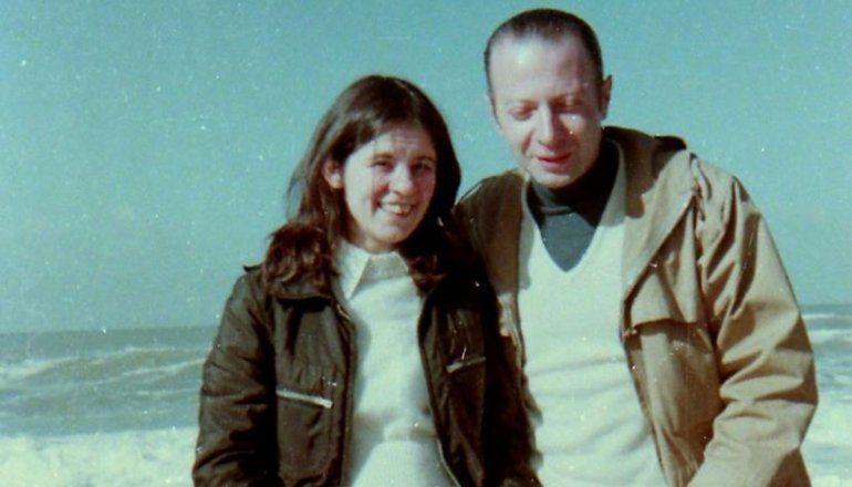 Horacio Heller y su esposa, Alivia Kraly.