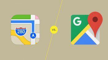 Google Maps vs. Apple Maps: cuál aplicación tiene la ventaja